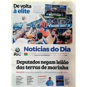 Avaí Fc Acesso À Série A 2019, Jornal Com Poster