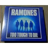Cd Ramones - Too Tough To Die Expanded +12bônus Oferta Temp