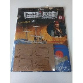 Fascículos Piratas Do Caribe