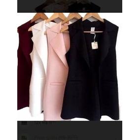 Colete Neopreme Moda Blogueira Roupas Feminina Lançamento