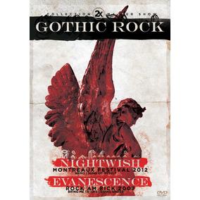 Dvd 2x Ghotic Rock Evanescence E Nightwish