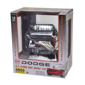 Miniatura 1:6 Motor Dodge 6.1 Liter Srt Hemi V8 Lindberg
