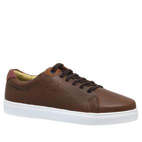 7245468f64 Sapatênis Masculino 4041 Em Couro Floater Tabaco  Jade Marsa por Doctor  Shoes