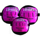 Kit Wall Ball E Cross Fit 4,6e8 Kilos Último Combate