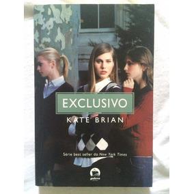 Livro Exclusivo - Kate Brian - Semi-novo