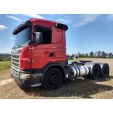 Scania G-420 A 6x4 2011 - Vermelha - Impecavel