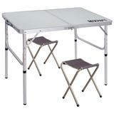 Mesa De Camping Plegable De Aluminio Para 2 Personas Redcamp