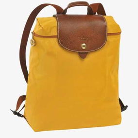 Amarillo Nueva Le Curry Longchamp Pliage Original Backpack nWvxHX4Iv