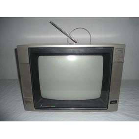 Televisão Antiga Mitsubishi 14 Polegadas