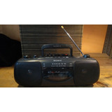 Radiograbadora Sony Banda Fm Y Am Cassette