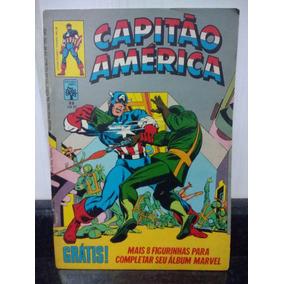 Hq Capitao America 22 C/ Calendario Marvel - Abril 1981 Rjhm