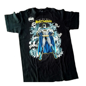 Playera Niño Personaje Batman Original Talla 18 Americana