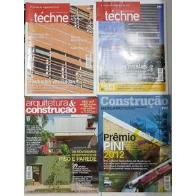 Lote 05 Revistas (engenharia E Construção)