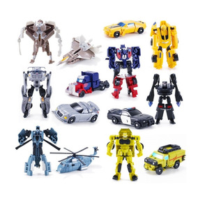 Kit 7 Transformers Bumblebee Optimus Prime Miniaturas Top !!