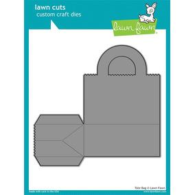 Suaje Corte Troquel Lawn Fawn Caja Scrapbook Recuerdos Bolsa