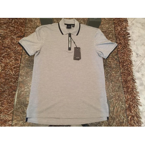 Camisa Armani Exchange Tipo Polo Hombre Talla Chica S 06ee29fc390
