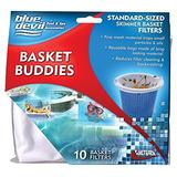 Blue Devil B8504a Skimmer Basket Filter 10 Pack Blanco
