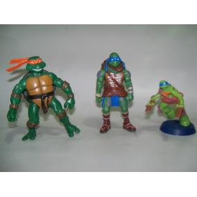 Tartarugas Ninja Leonardo E Michelangelo Várias Coleções