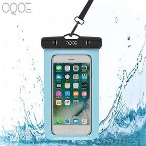 092722d4fee Funda Oqoe Contra Agua Universal Colgante Sumergible - Azul
