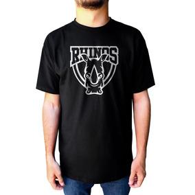 Camiseta Camisa Rhinos Futebol Americano Football Nfl Team c3e09b715539b