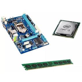 Kit Intel Core I3 + Placa 1155 + 4gb Memória Limpa Estoque