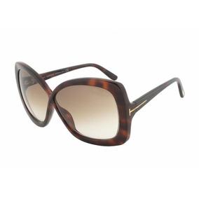 ccd8eebba3cad Óculos De Sol Tom Ford Jade Tf 277 52 F Marrom Tartaruga