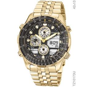 87e5f22cb3f Relogio Citizen Dourado - Relógio Citizen Masculino no Mercado Livre ...