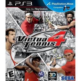 Virtua Tennis 4 - Ps3 - Física - Usado - Madgames