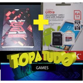 Sx Pro + Cartão De Memória 64gb + Jogos Prontos Para Jogar