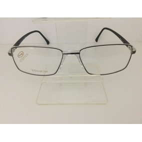 be42f1d861b40 Oculos Stepper Titanium Preto - Óculos no Mercado Livre Brasil