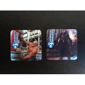 Lote 2 Tazo/cards Yokitos - Quarteto Fantástico 15 E 17
