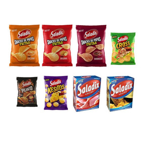 Picada Saladix, Papas Fritas Y Galletitas Horneadas