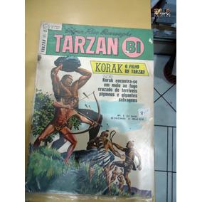 Tarzan-bi Nº 05 Korak O Filho De Tarzan Editora Ebal P/b