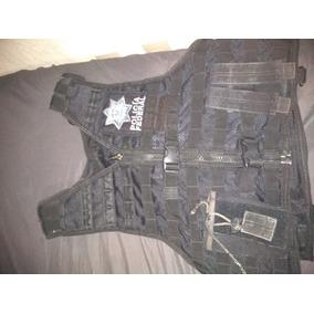 Chalecos Tacticos, De La Policia Federal Mx, Con Accesorios
