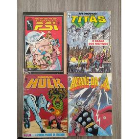 Super-herói (força Psi, Hulk, Novos Titãs, Heróis Da Tv)