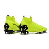 Chuteira Nike Mercurial Superfly Vi 360 Elite Verde Campo