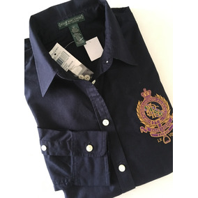 Camisa Polo Ralph Lauren Feminina M longa Nova Original 6895c270132