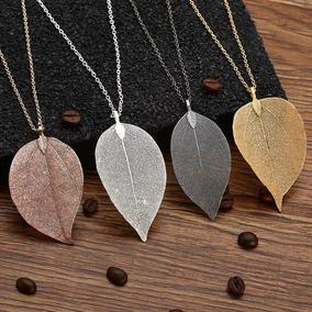 Collar De Hoja /leaf Necklace