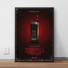 Quadro Stranger Things - Walkie Talkie (20x30cm)