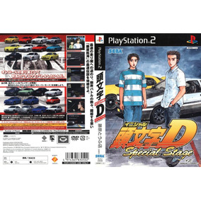 Initial D Extreme Stage Playstation - Video Games no Mercado Livre