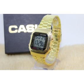 a80e6d3160c Relógio Casio Wr (f91) Dourado Ou Prata Classico - Relógios De Pulso ...