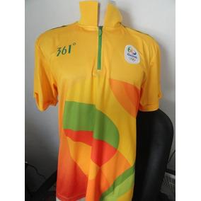 b30c4af546 Camisa Olimpiadas Rio 2016 Tamanho G Otimo Estado De Uso