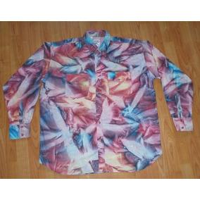 Roper Camisa Moda Urbana Estilo Seventies Talla Extra Grand