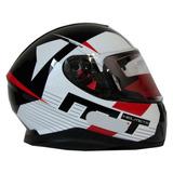 Mt Helmets Thunder 3 Ray Black/white/red