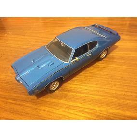 Miniatura Metal 1:24 Pontiac Gto 1969 Colecionavel