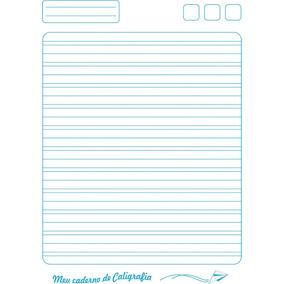 Caderno Caligrafia Cp/dura Dominguinhos 40f Univ Broch V C/5