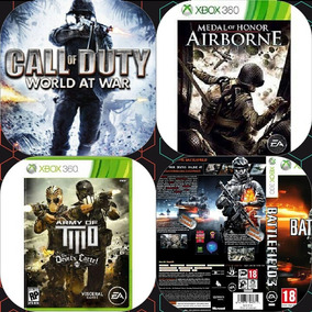 Call Of Duty Waw + 10 Jogos «midia Digital»
