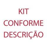 Kit Massas + Disco De Algodão + Escova De Sisal 10x2