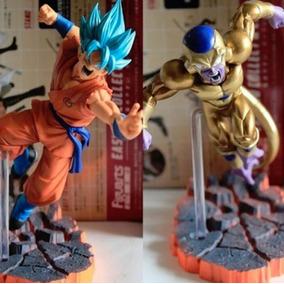 Action Figure Dragonball Kit Freeza + Goku !! Promoção
