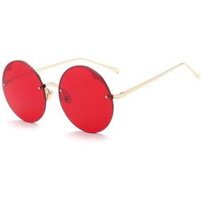 32e5ef2fe78d3 Oculos Lente Redonda Sem Aro De Sol - Óculos no Mercado Livre Brasil